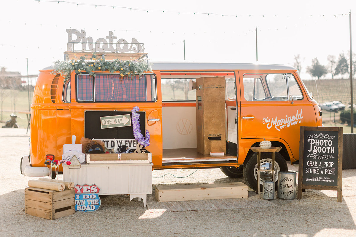 The Marigold Bus Booth