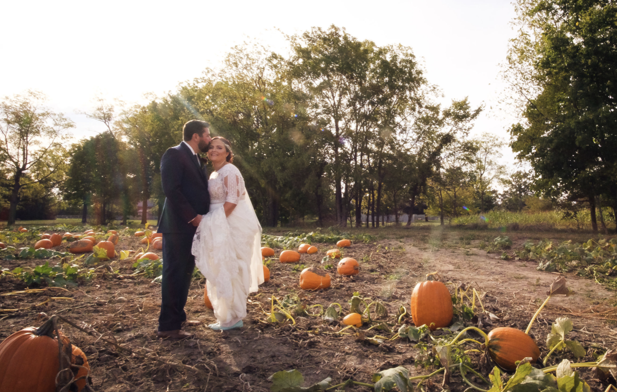 indiana wedding pumpkin patch