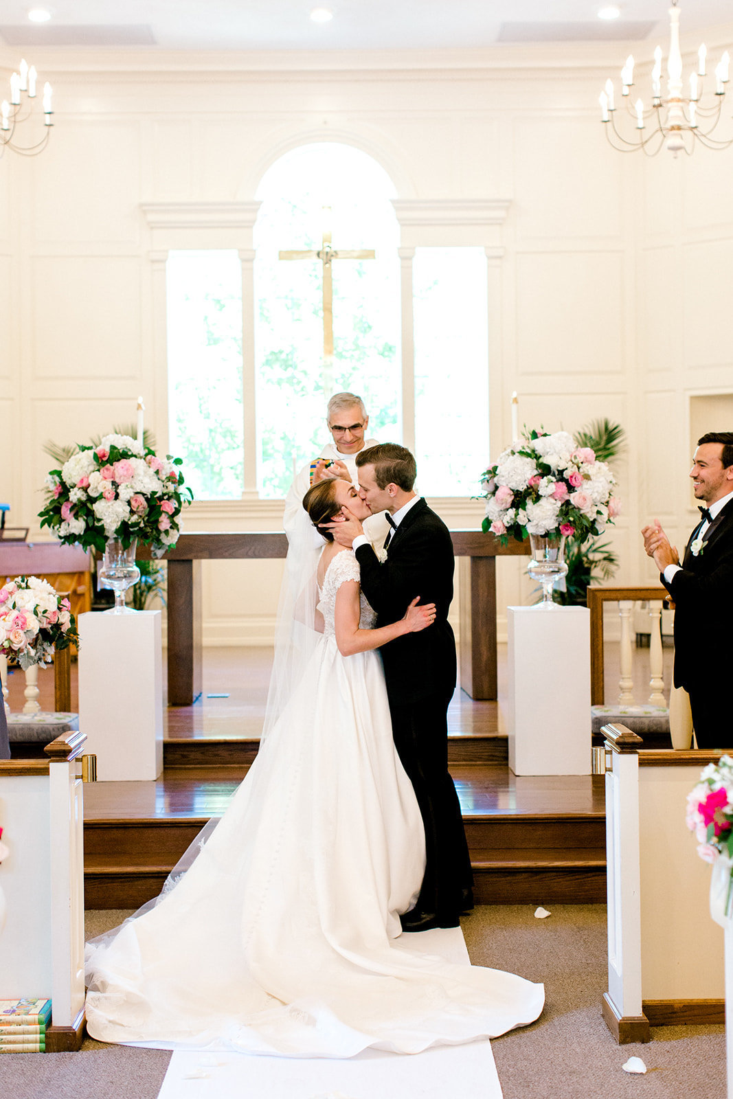 Chicago Botanic Gardens Wedding - Green and Pink Wedding_28