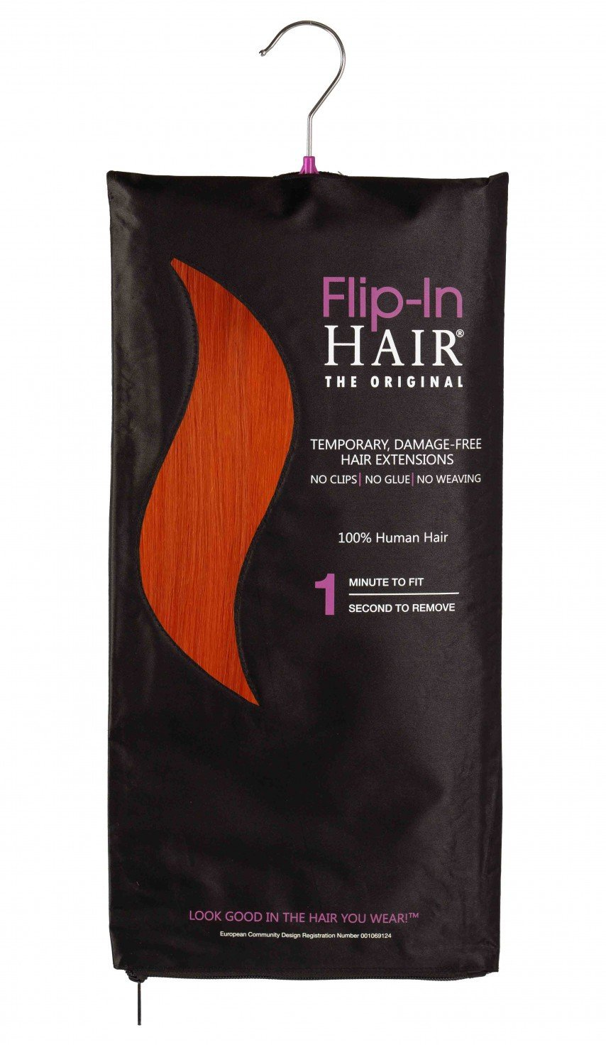 Flip-In Hair Original Orange
