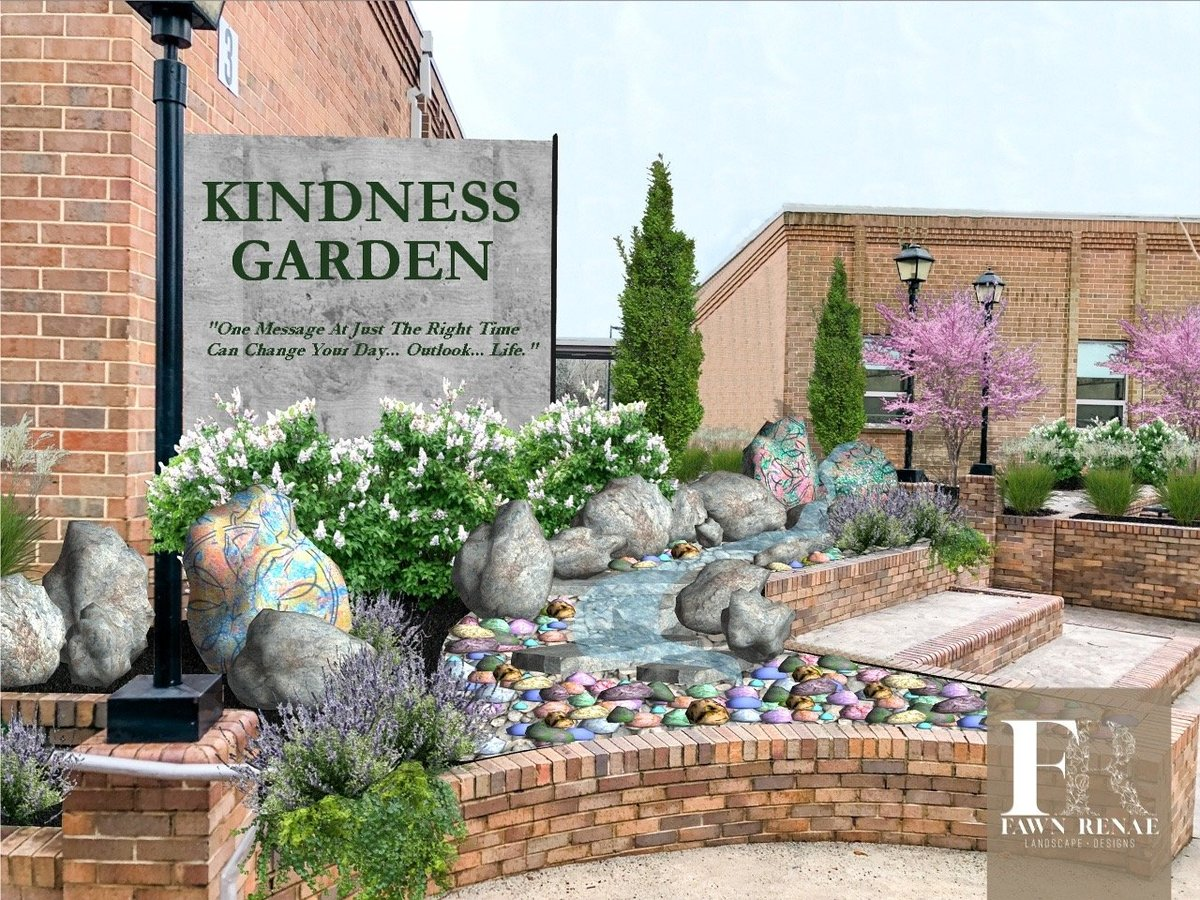 Kindness Garden Front