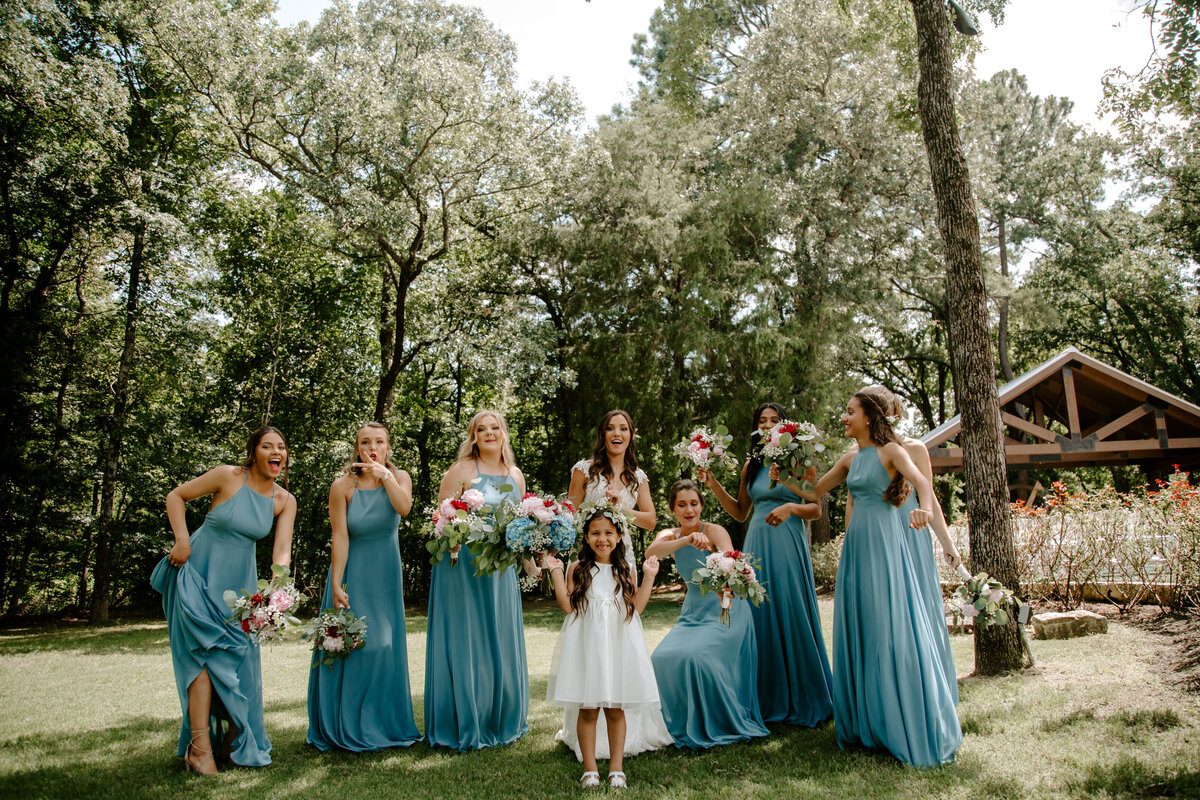 The Springs Rockwall TX Nimbus Events Bridal Party