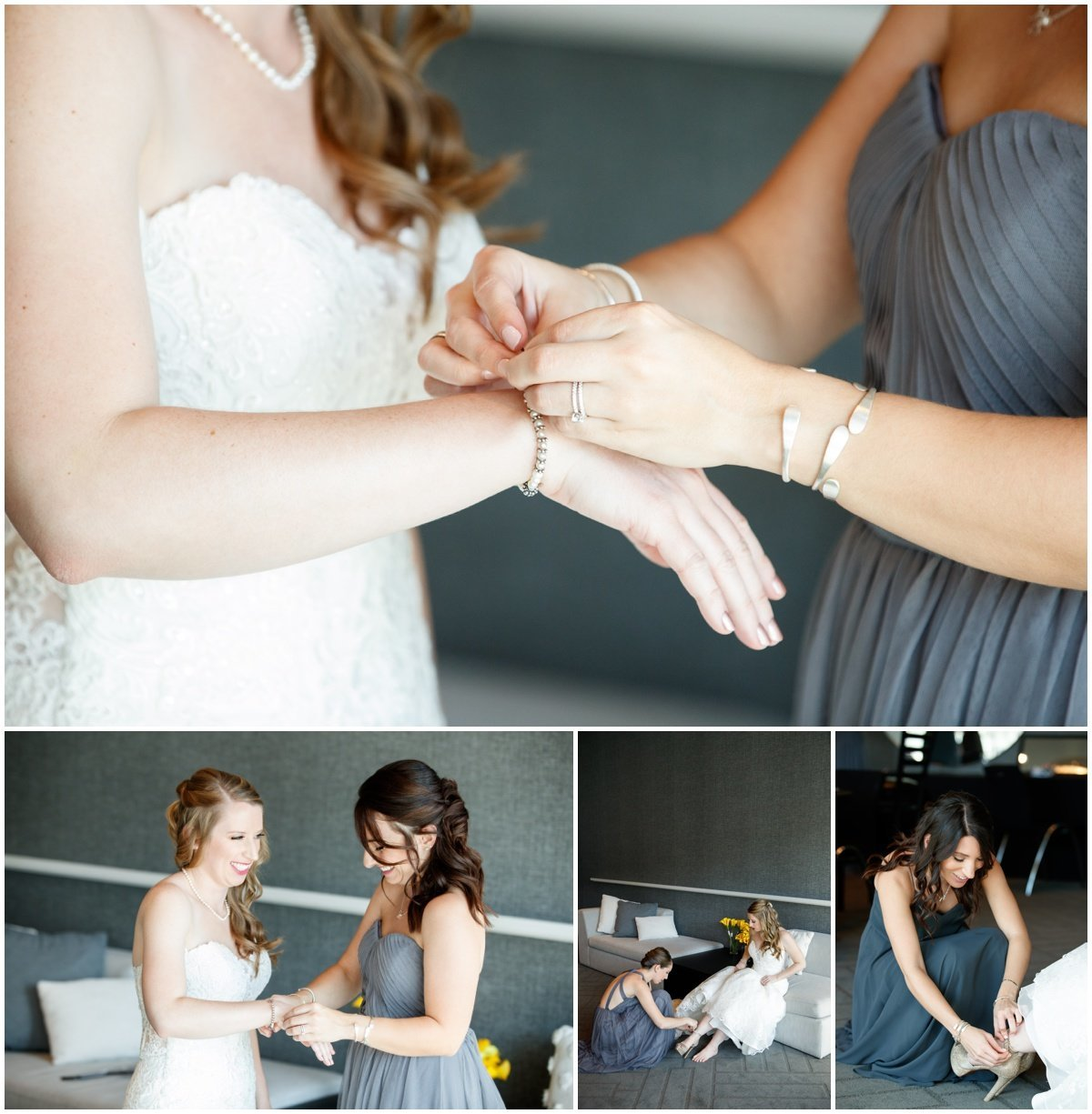 Austin wedding photographer w hotel wedding photographer bride dressing