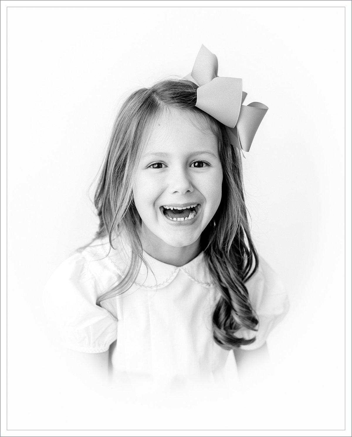 Traditional childrens portraits greenville south carolina