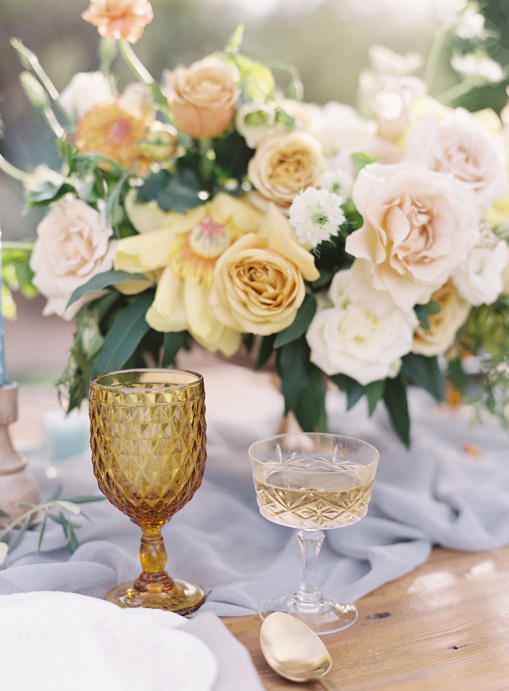 orange-and-yellow-wedding-centerpiece