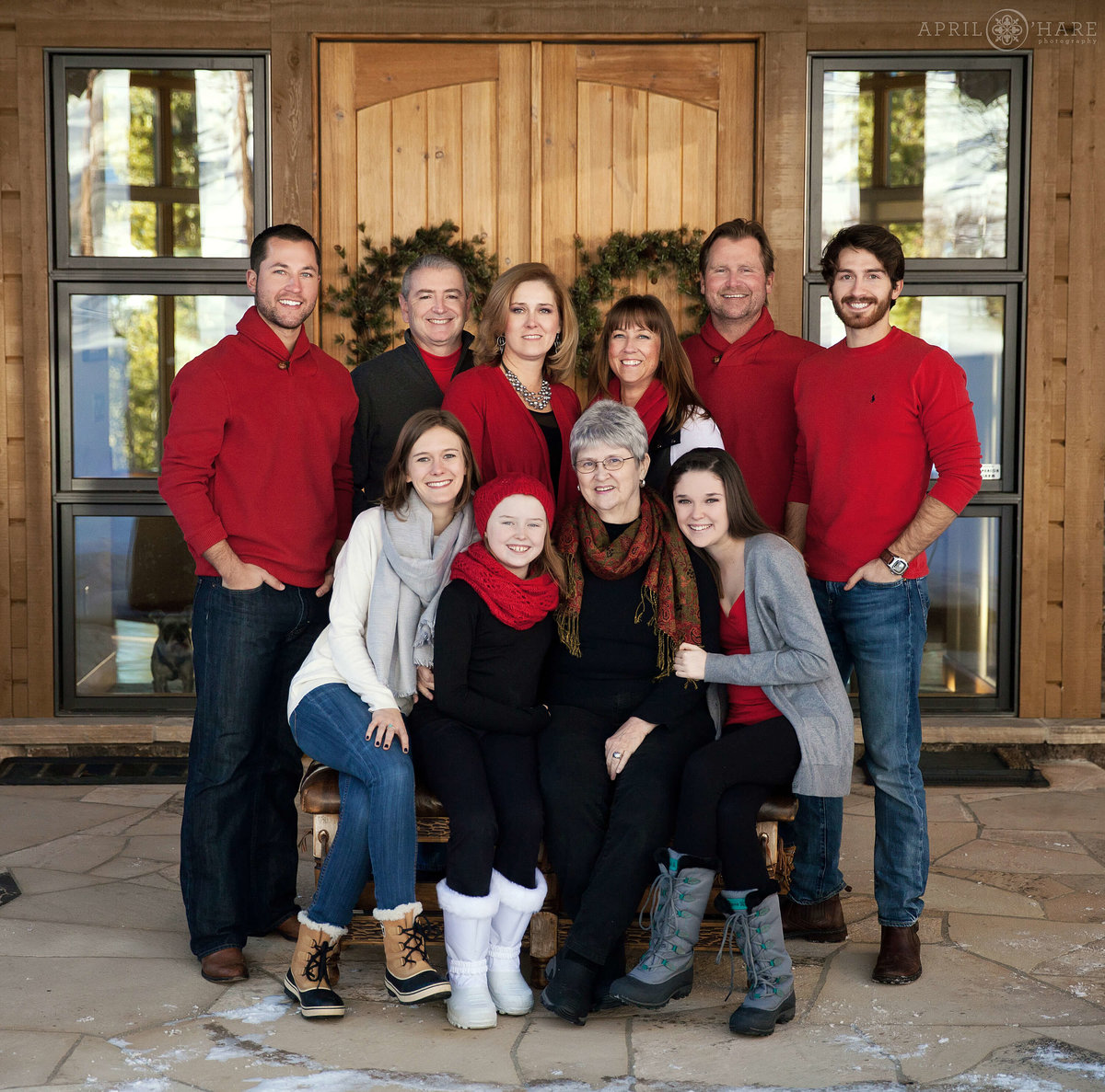 Christmas Vacation in Colorado Family Photography in Breckenridge