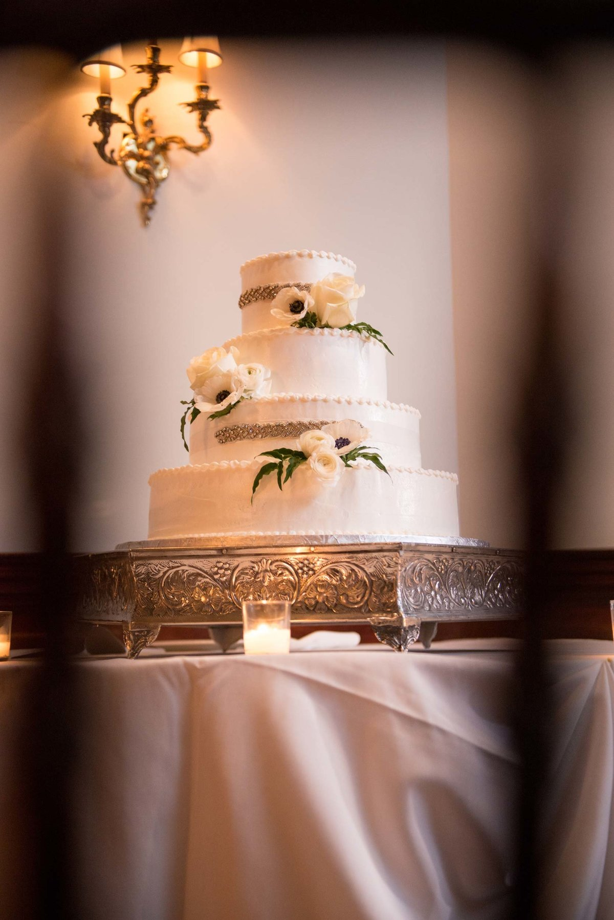 Wedding cake from The Mansion at Oyster Bay
