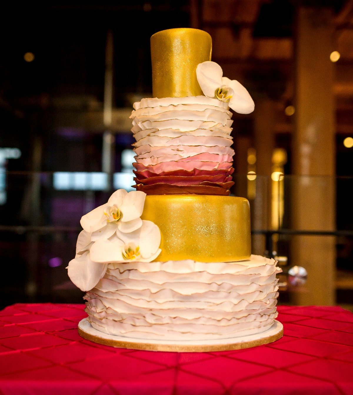 Whippt Desserts & Catering - Wedding Cake - photo by TLAW2
