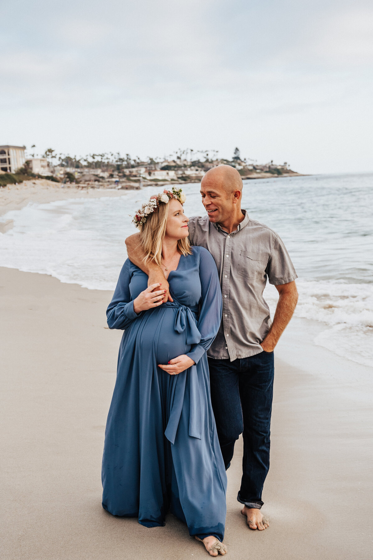 SoCal Standard - Maternity Session at Windandsea - Nicole-67