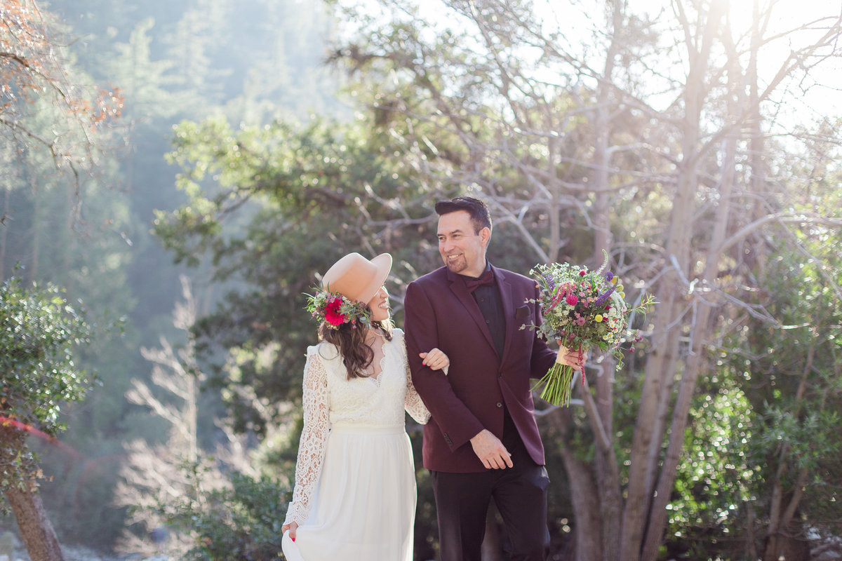 Mt. Baldy Elopement, Mt. Baldy Styled Shoot, Mt. Baldy Wedding, Forest Elopement, Forest Wedding, Boho Wedding, Boho Elopement, Mt. Baldy Boho, Forest Boho, Woodland Boho-15