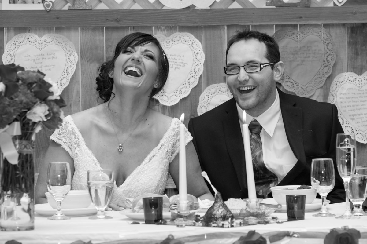 wedding toast laughs