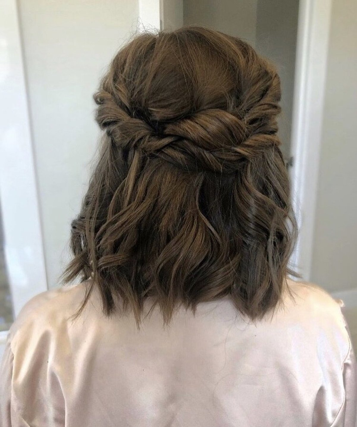 Twisted Bridal Hairstyle