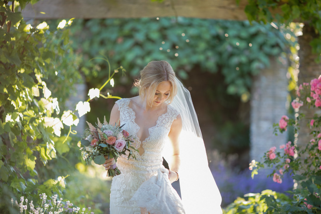 Brides Portrait at Hestercombe Gardens Somerset