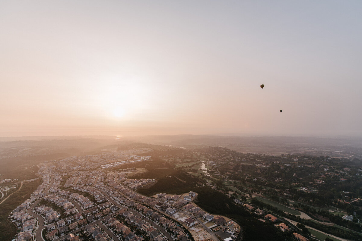 Hot Air Balloon Elopement Marie Monforte Photography-185