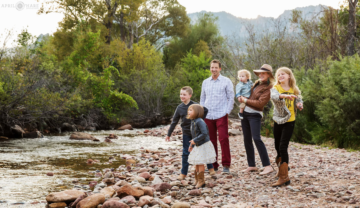 Lifestyle Colorado Family Photography in Boulder