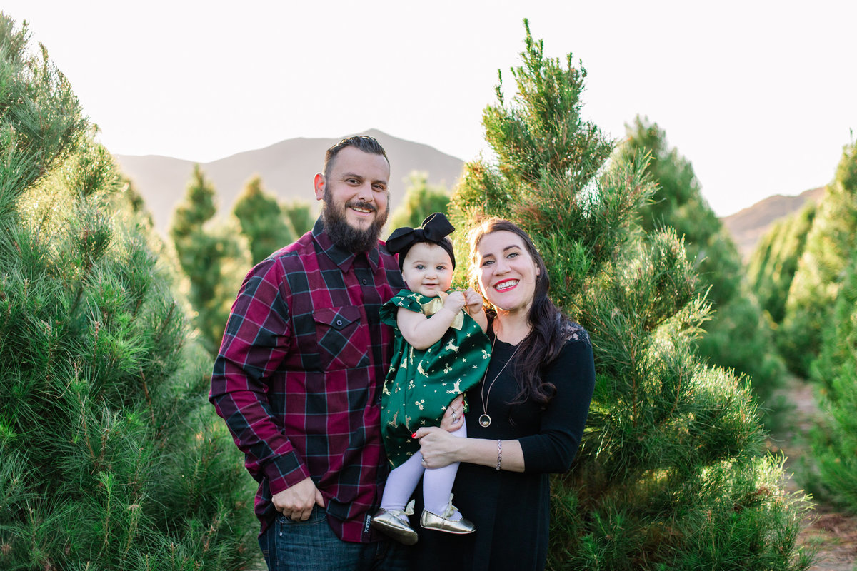 Xmas Photography, Rye Farm Christmas Tree, Family Photography A&B-19