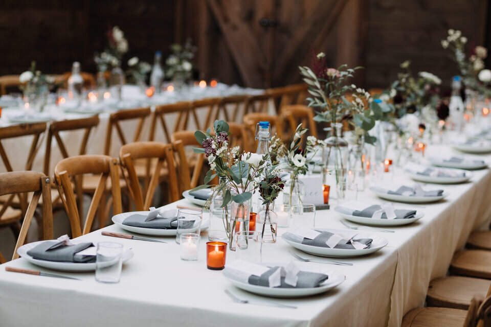 Long Tables Modern Arnold House Livingston Manor Wedding Catskills Wedding Planner Canvas Weddings