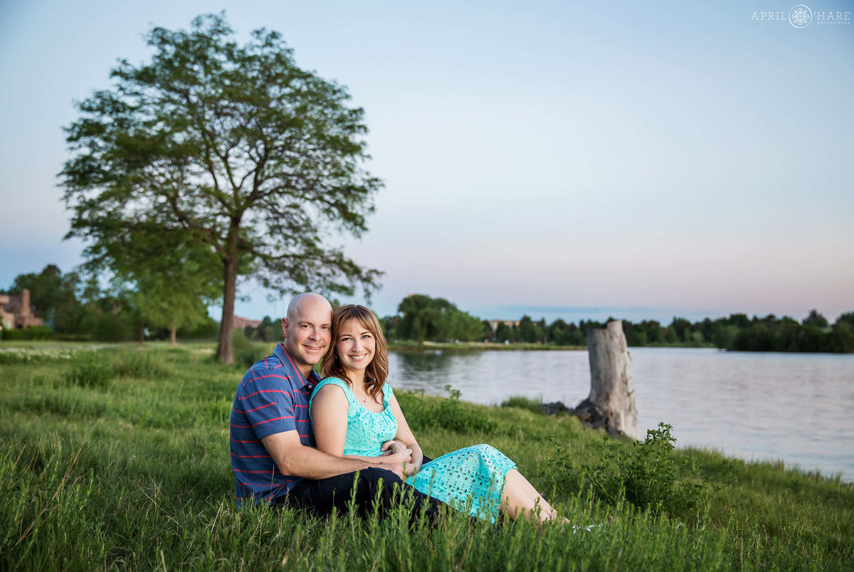 Engagement Photography in Denver CO at Sloans Lake