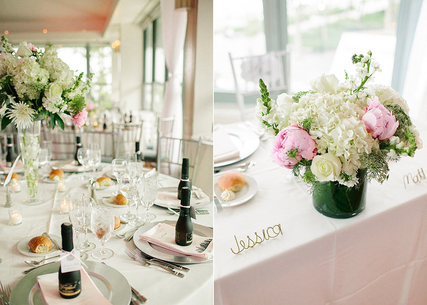 Wedding Centerpiece and Bouquet
