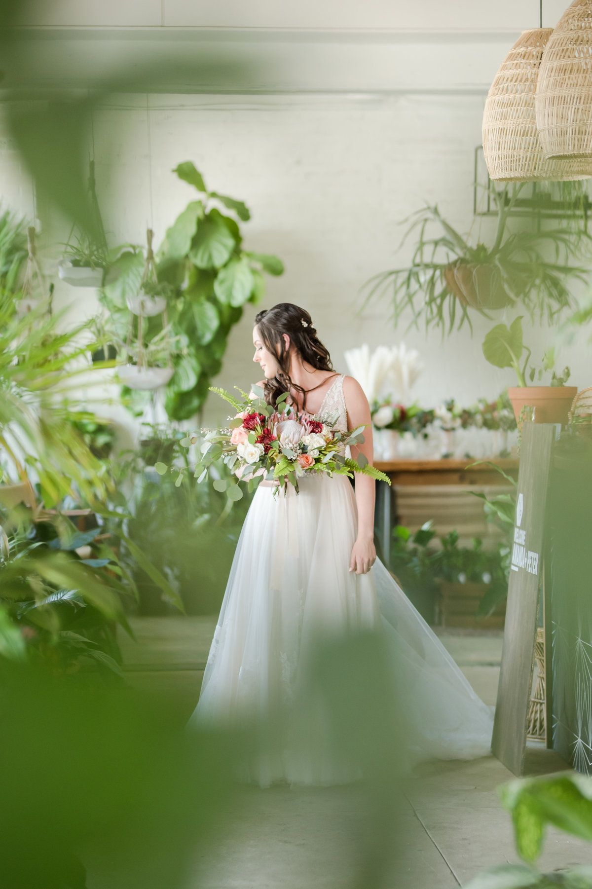 Tampa boho wedding at Fancy Free Nursery 17