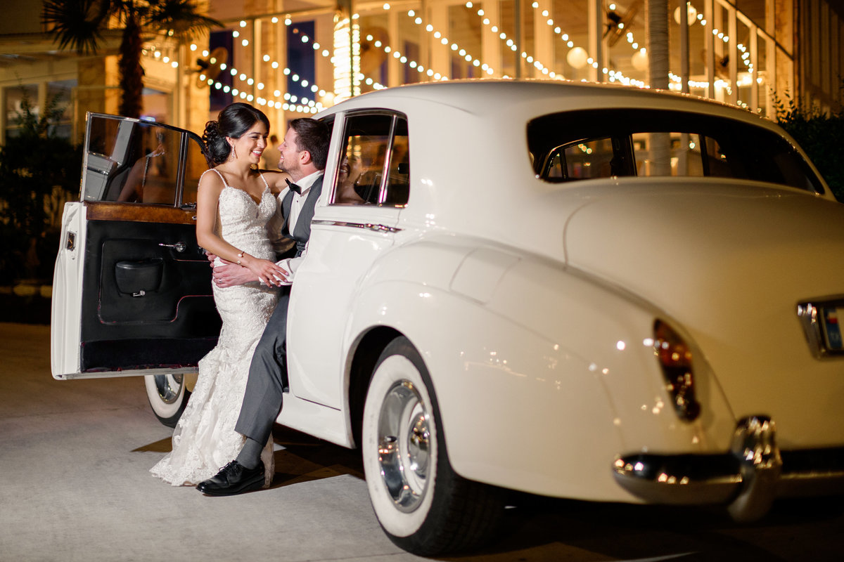 Casa blanca wedding photographer romantic bride groom car 2211 Hairy Man Rd, Round Rock, TX 78681