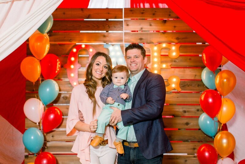 Circus Themed 1st Birthday Indianapolis Party Planner_0056