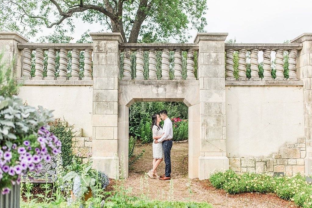 An Elegant Spring Engagement Session at the Dallas Arboretum and Botanical Gardens  by Allison Jeffers Wedding Photography_0025