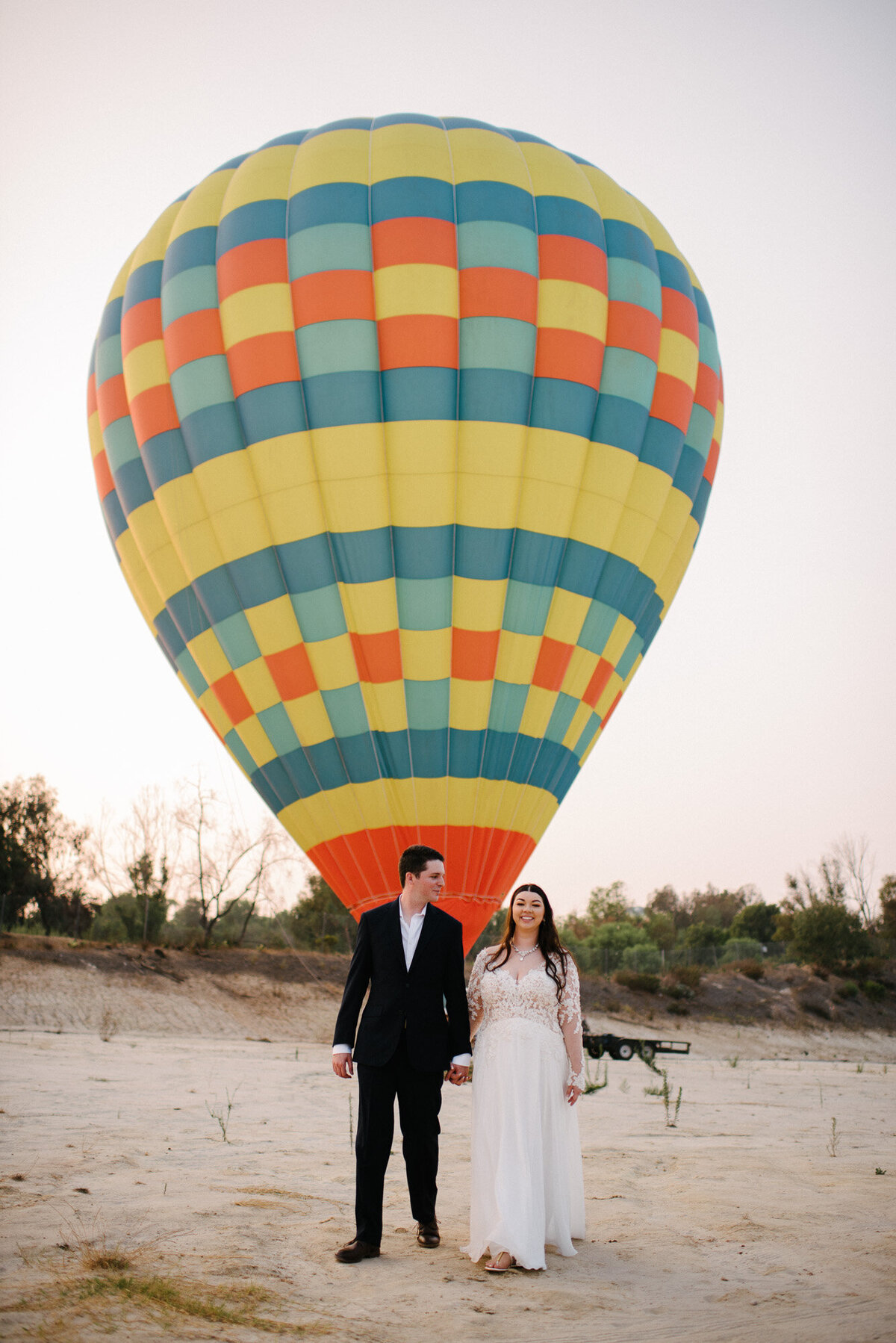 Hot Air Balloon Elopement Marie Monforte Photography-192