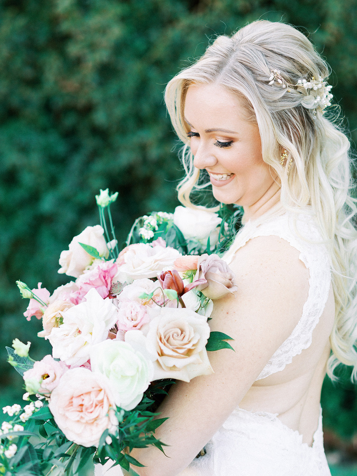Romantic Garden Party at Clark Gardens Dallas Wedding (10)