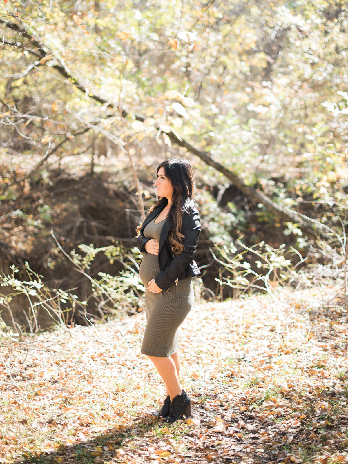 Courtney Hanson Photography - Trendy Dallas Maternity Session-2521