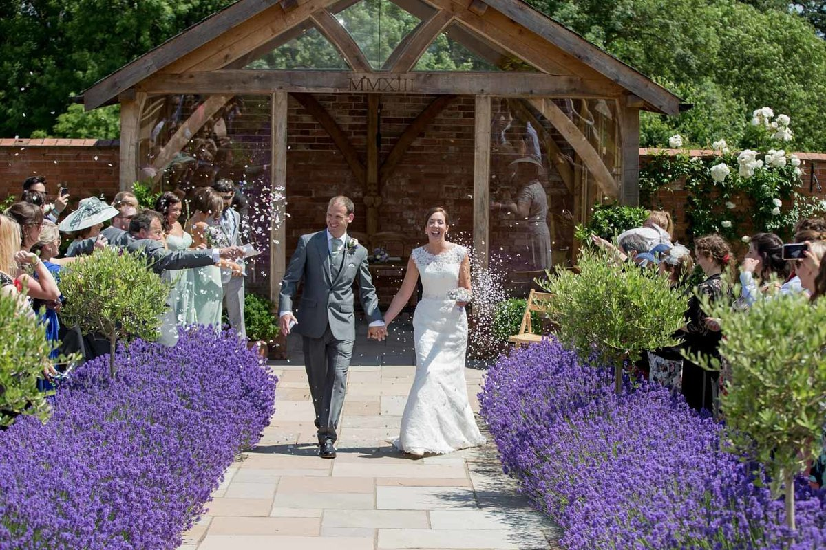 Upton Barn summer wedding in Devon