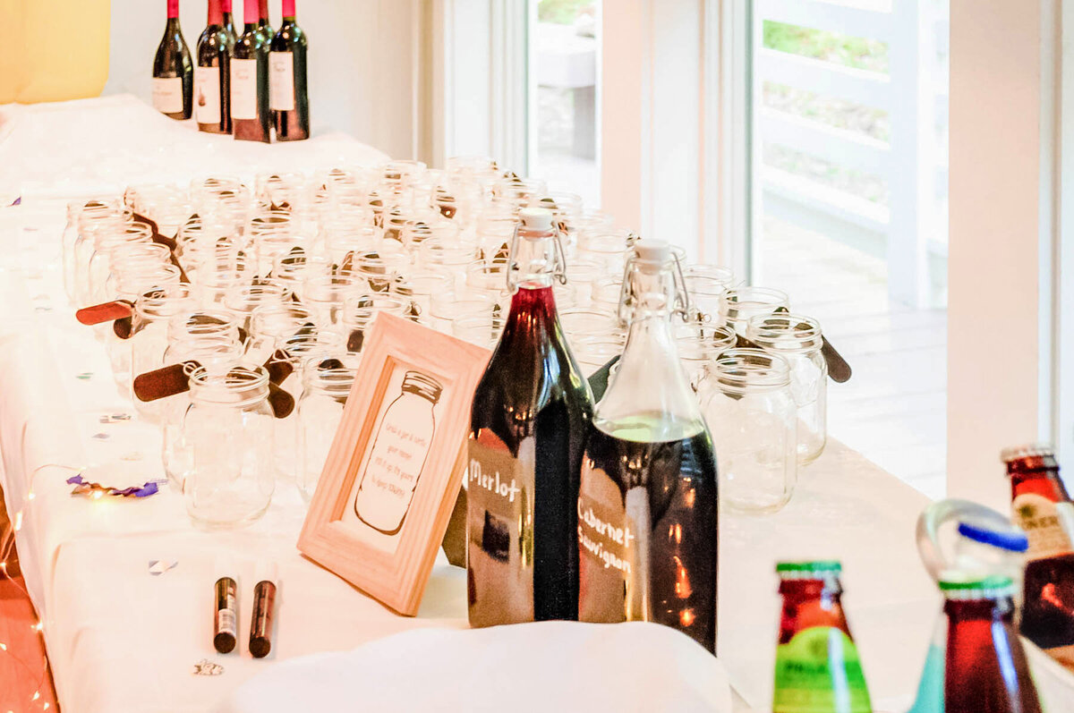 Bald Head Island Wedding Photography - Anna and Ray - Reception Table - Wilmington NC Photographer Team