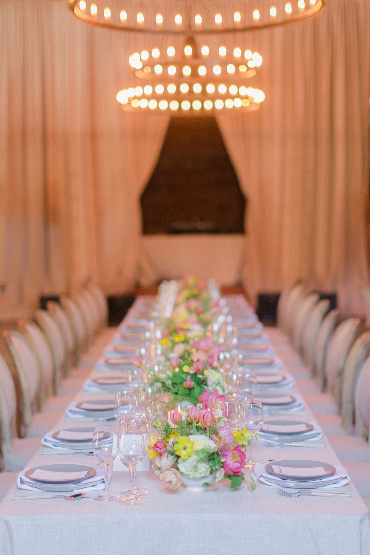 Wedding by Jenny Schneider Events at Olympia's Valley Estate in Petaluma, California. Photo by Lori Paladino Photography.