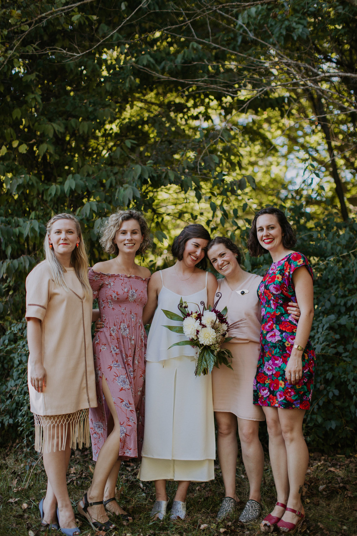 Bridesmaids and wedding day with wedding planner For Love of Love
