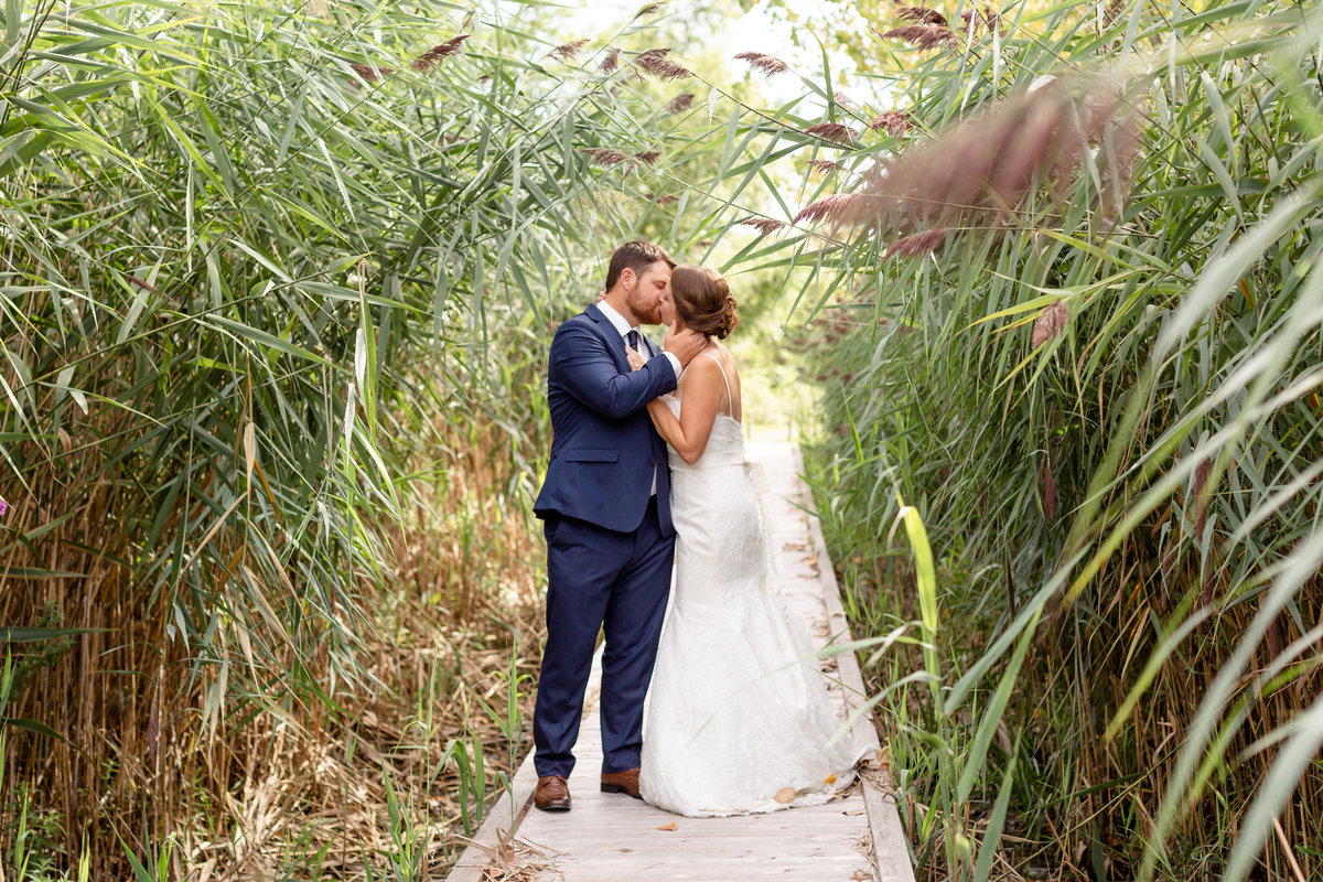 Ruscom Shores Conservation Area Wedding Portraits by Dylan and Sandra Photography