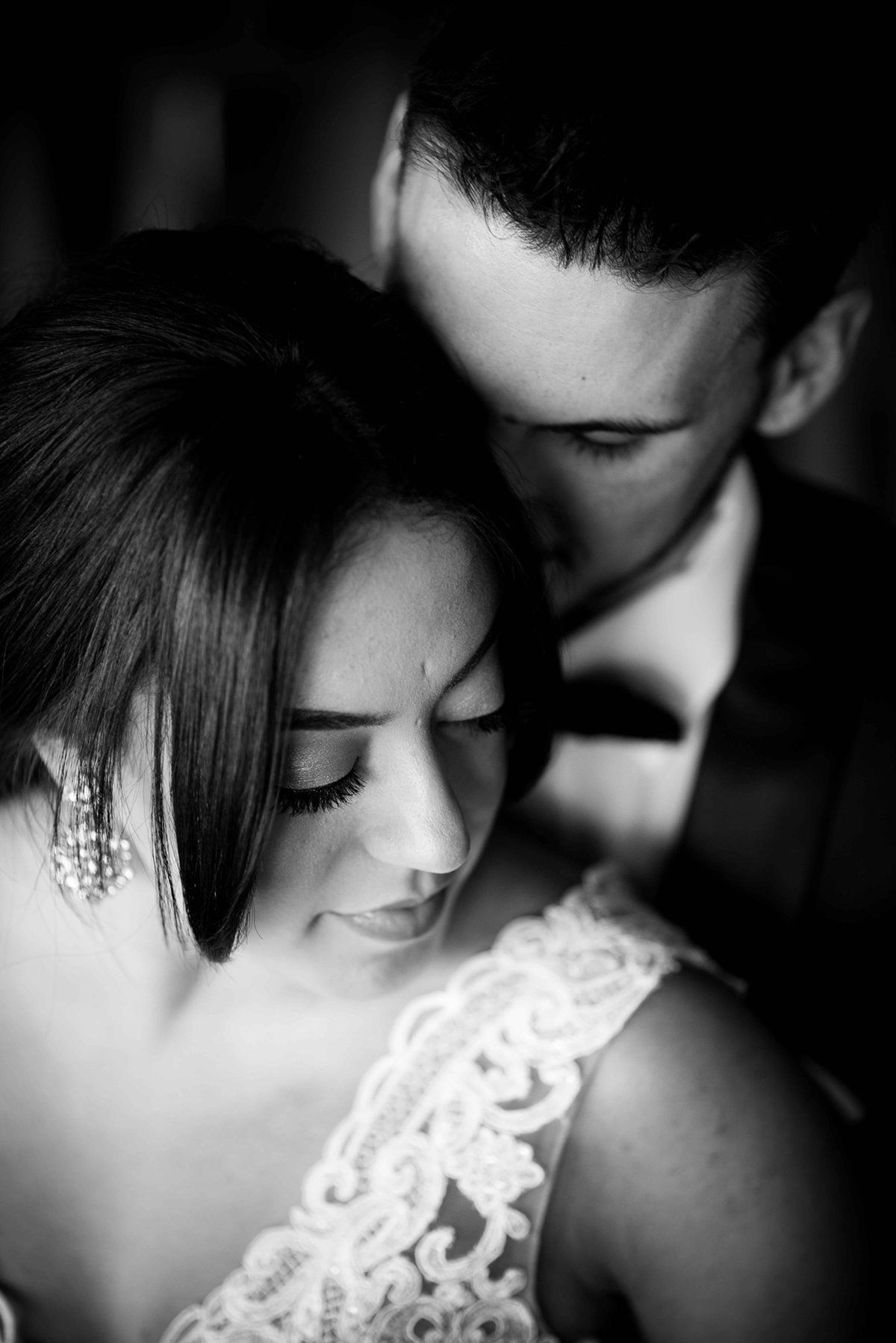 Black and White Wedding Photography  in Washington DC
