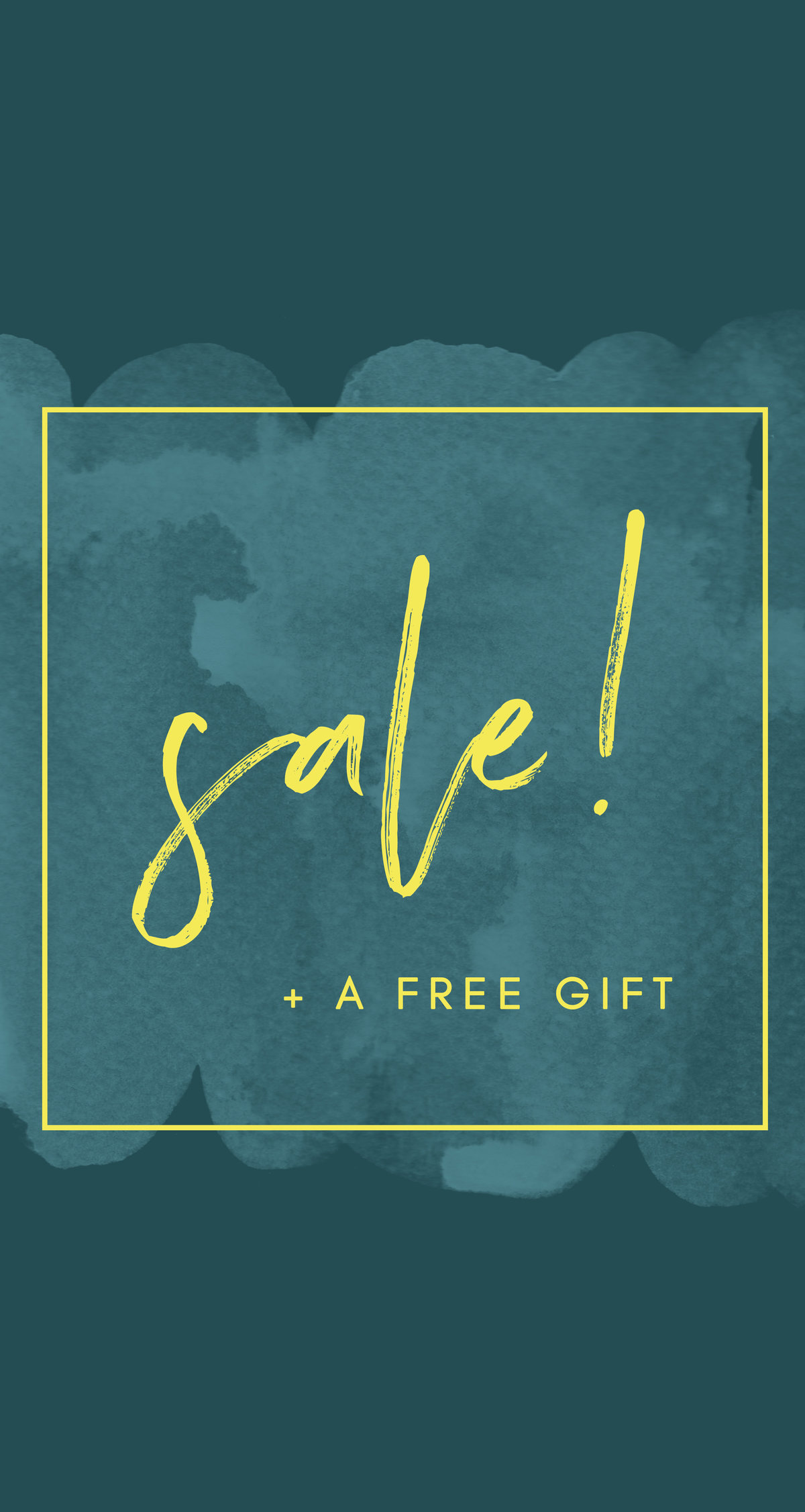 Sale and Free Gift Instagram Story