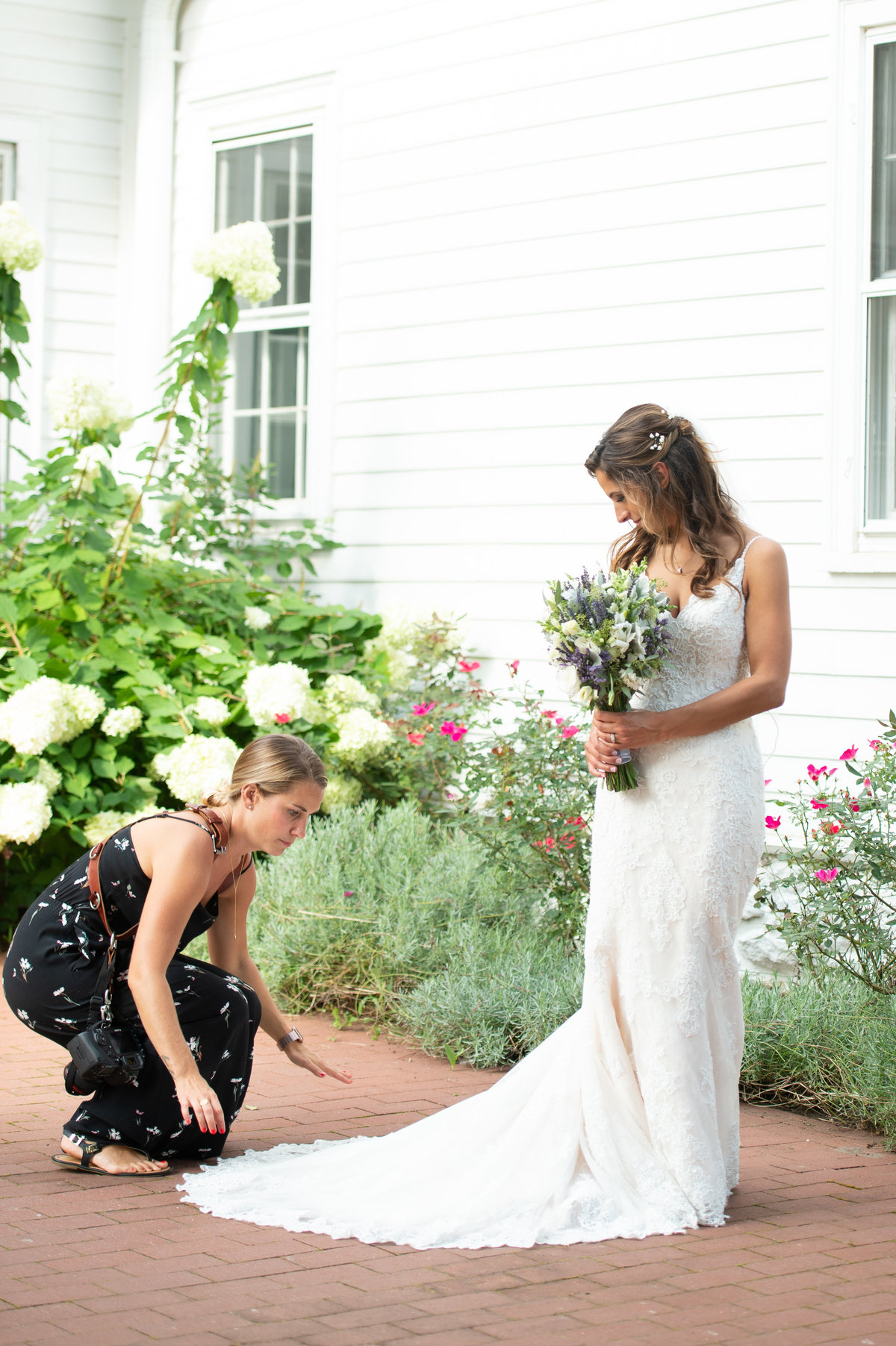 Ashley Mac Photographs - New Jersey Weddings - Behind the Scenes of a Wedding - BTS-40