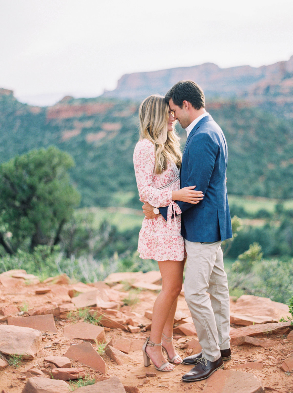 Sedona Arizona Engagement Session - Mary Claire Photography-5