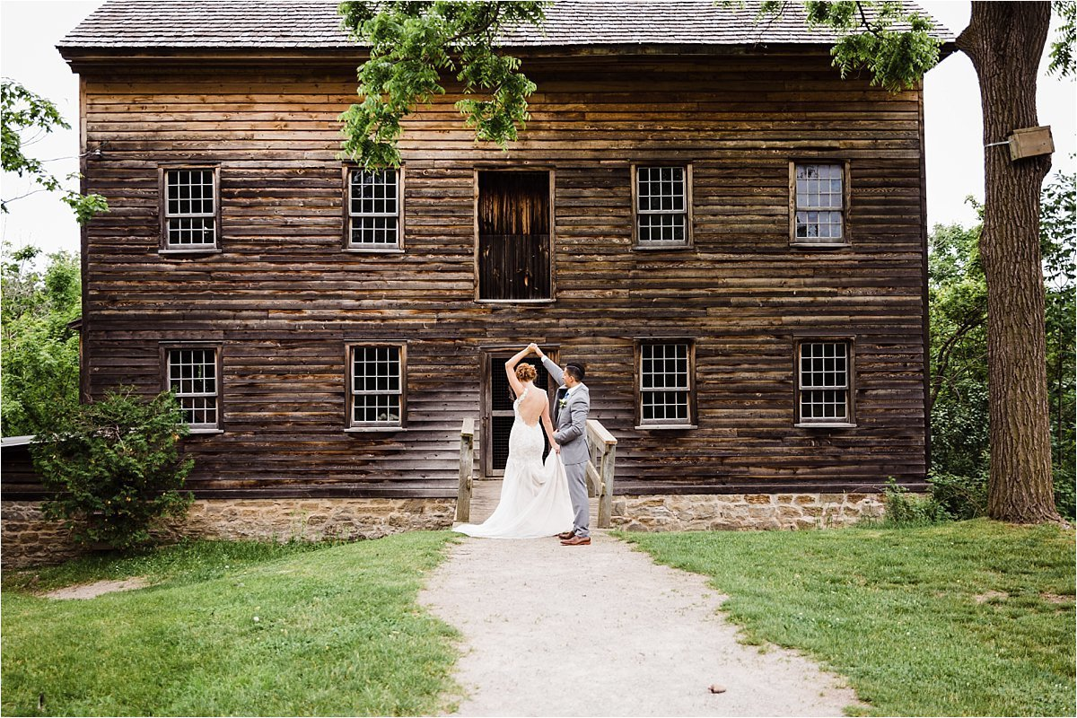Ball's Falls Conservation Area Wedding Venue in Jordan Ontario by Dylan and Sandra Photography