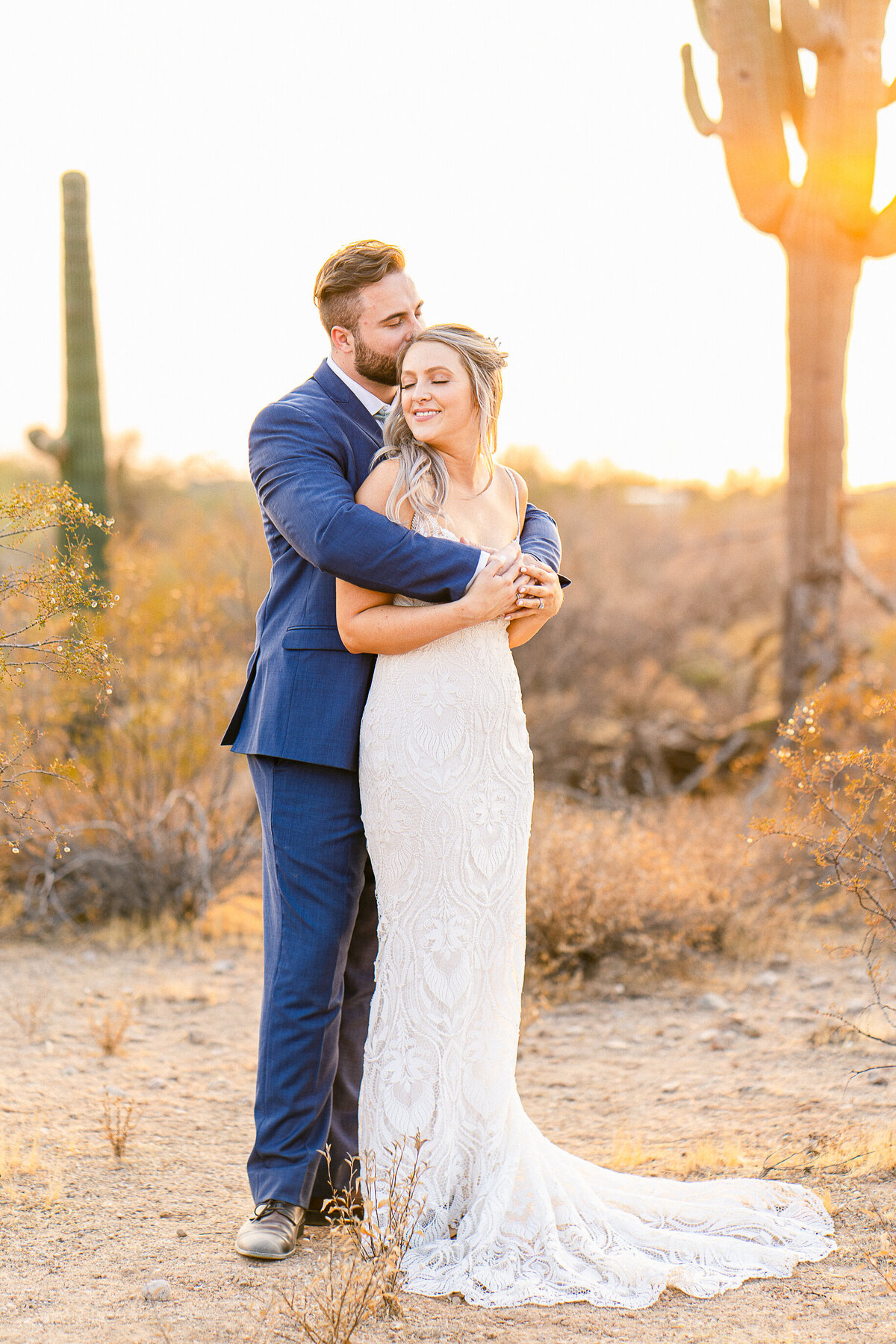 Intimate Desert Wedding In The Superstition Mountain - Phoenix Wedding Photographer - Atlas Rose Photography AZ02