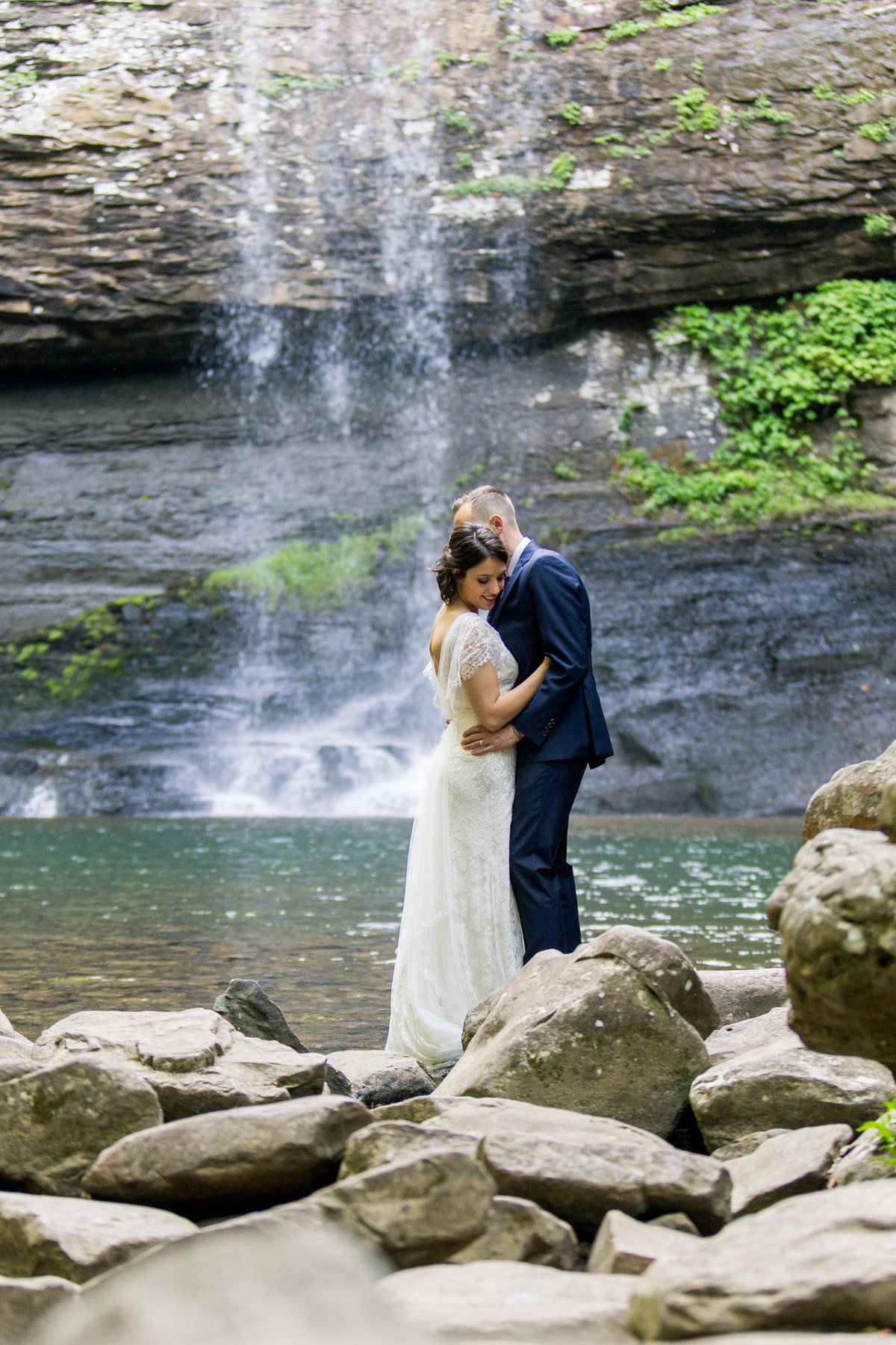 Romantic bride and groom photos captured by destination elopement photographer Rebecca Cerasani