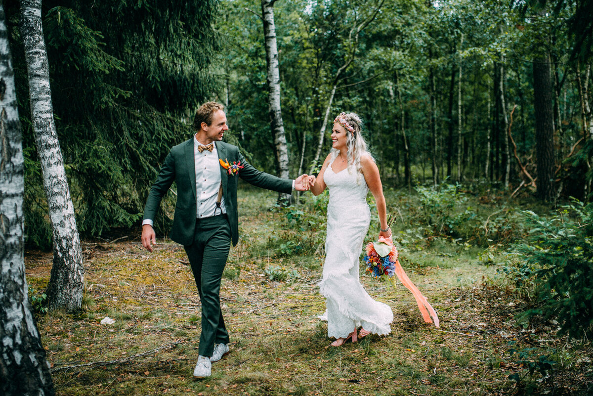 Bruiloft Marlous & Michael - Pink Wedding - Te Leuk Trouwen- Romy Dermout Photography-319