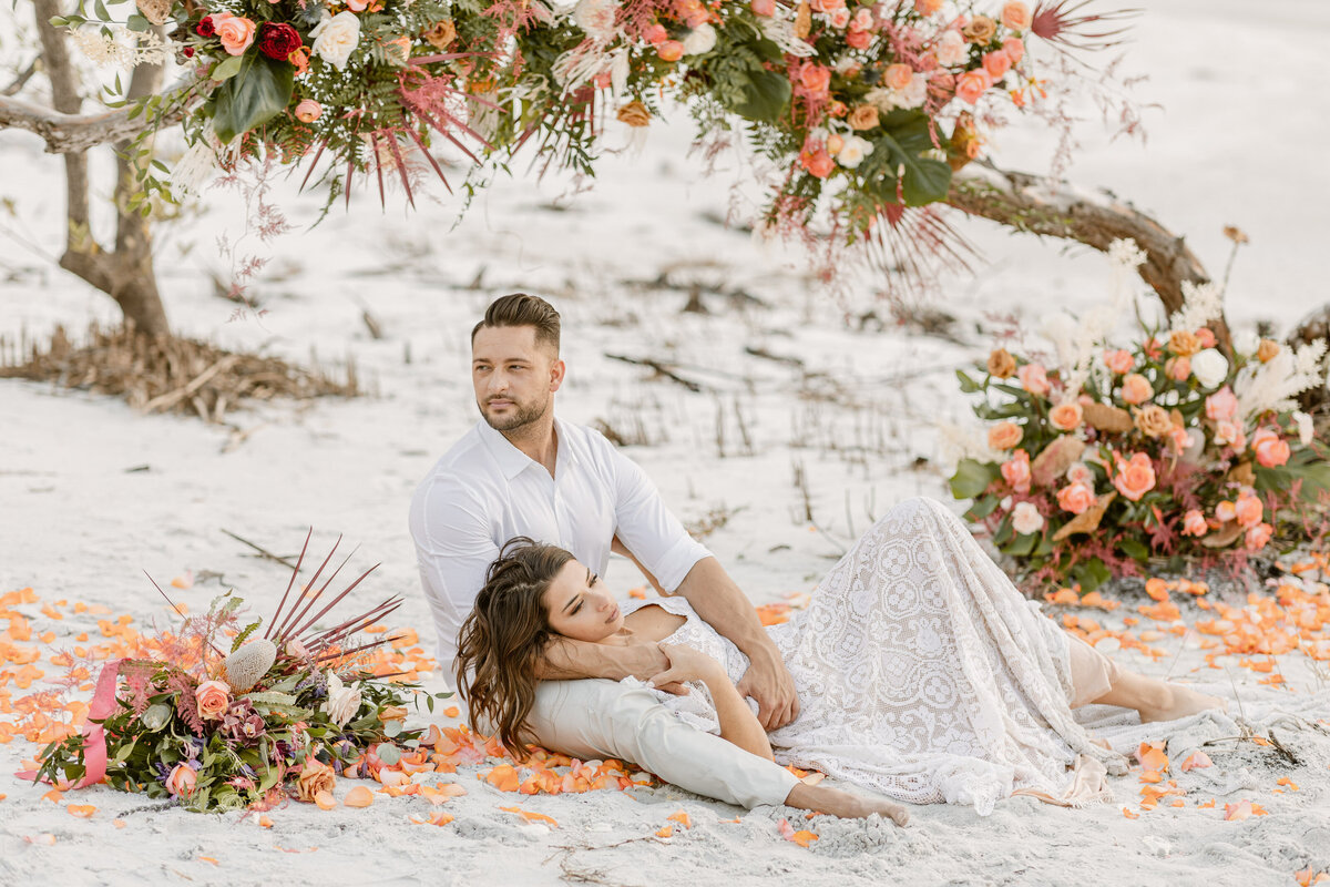 Beach Elopement in Saint Petersburg, Florida 22