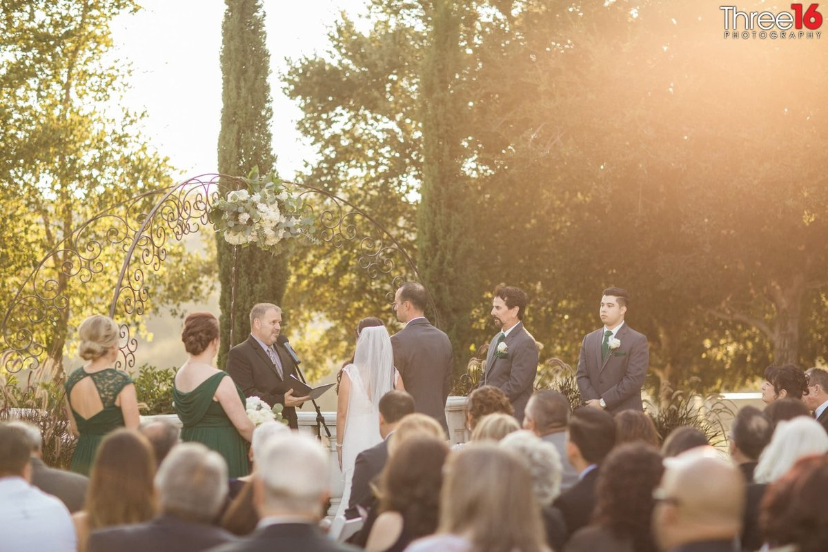 Wedding Ceremony in Chino Hills, CA
