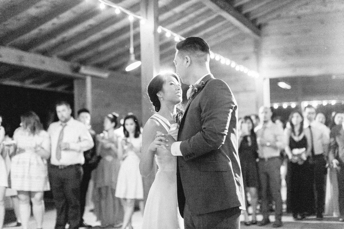 Rustic Barn Wedding First Dance Cornerstone