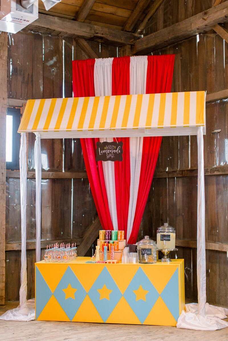 Circus Themed 1st Birthday Indianapolis Party Planner_0077