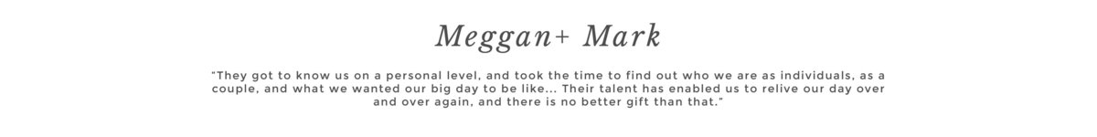 Meggan + Mark
