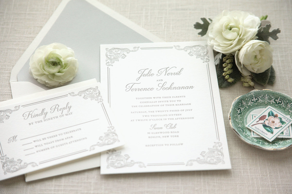 Letterpress-Wedding-Invitation-elegant-gray