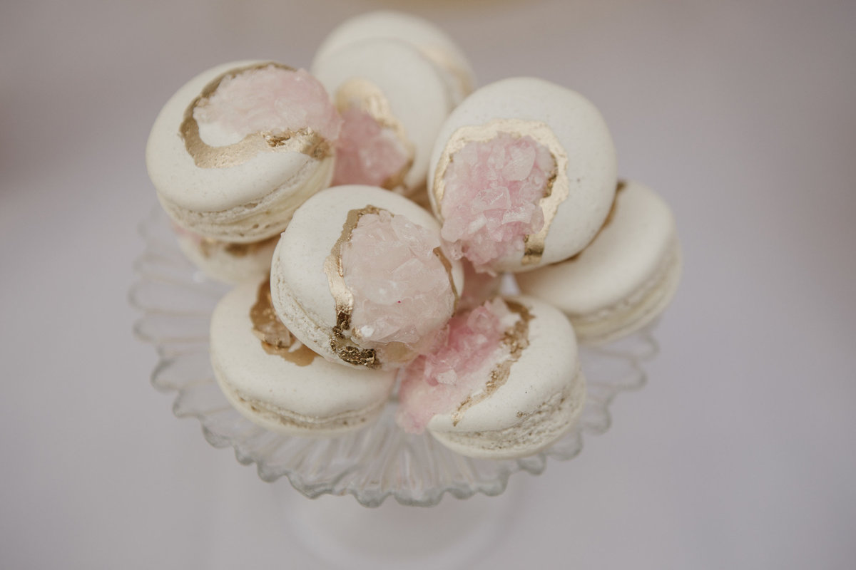 Rose Quartz Macarons